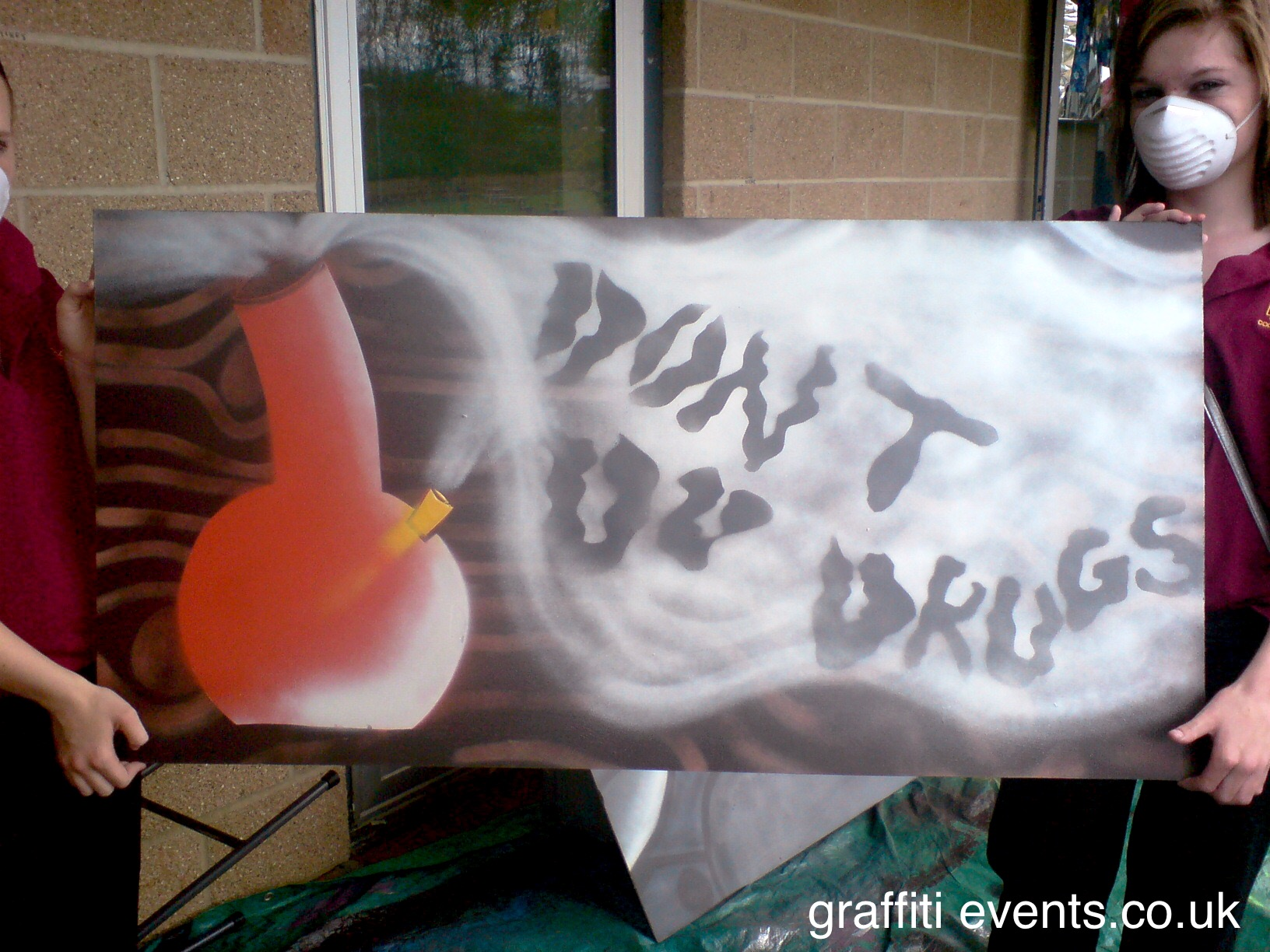 Graffiti Workshop with Torbay YOT